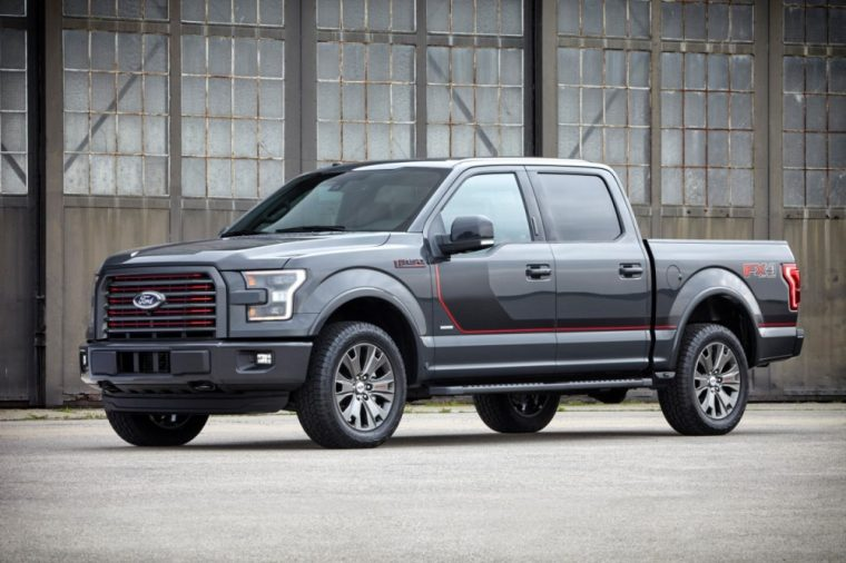 2016 Ford F-150 exterior with Appearance Package