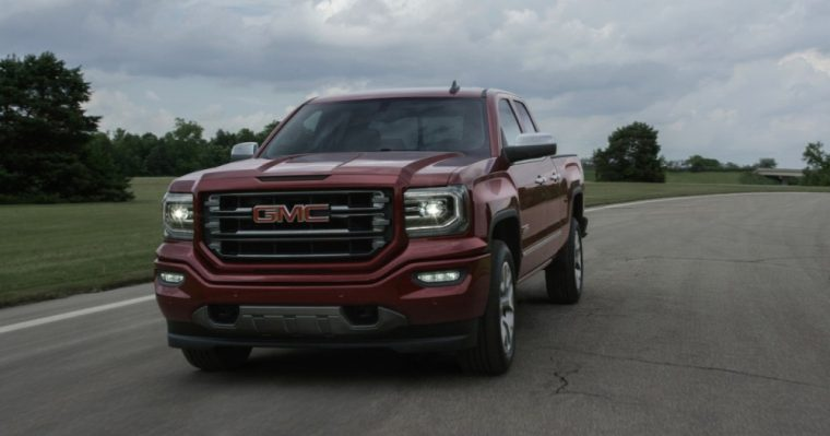 The 2016 GMC Sierra 1500 comes standard with a 4.3-liter EcoTec3 V6 and six-speed automatic transmission