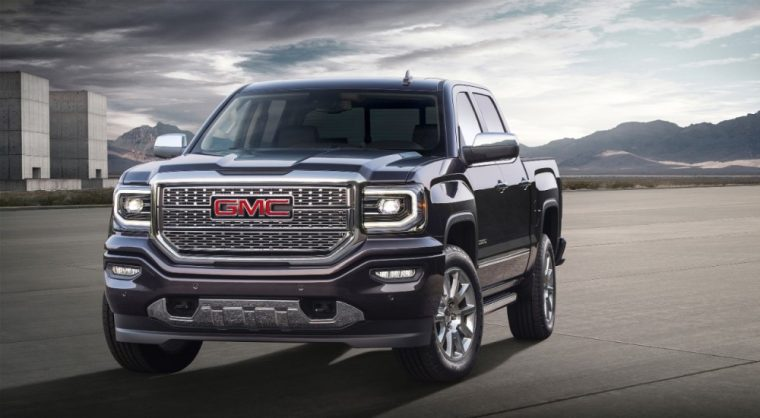 The 2016 Sierra 1500 Denali features a signature Denali grille