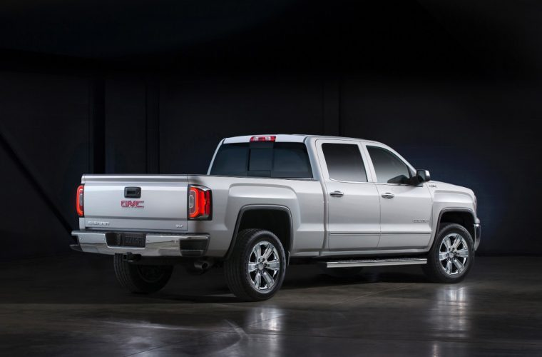 The 2016 GMC Sierra SLT is good for 355 horsepower and 383 lb-ft of torque
