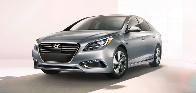 The 2016 Hyundai Sonata Hybrid is good for 193 horsepower