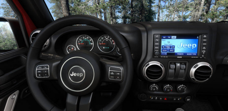 2016 Jeep Wrangler Technology