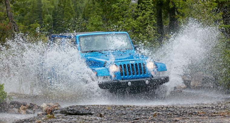 2016 Jeep Wrangler Unlimited Off Road