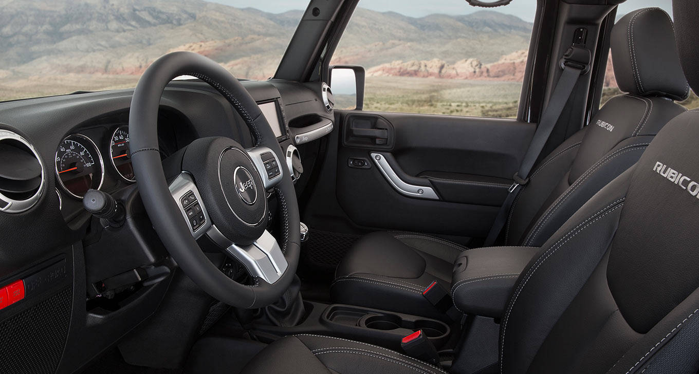 2016 jeep wrangler unlimited rubicon interior the news wheel. Black Bedroom Furniture Sets. Home Design Ideas