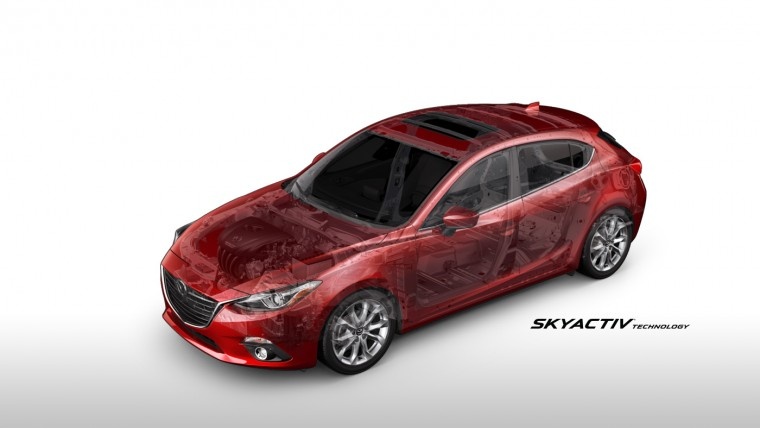 2016 Mazda 3 engineering