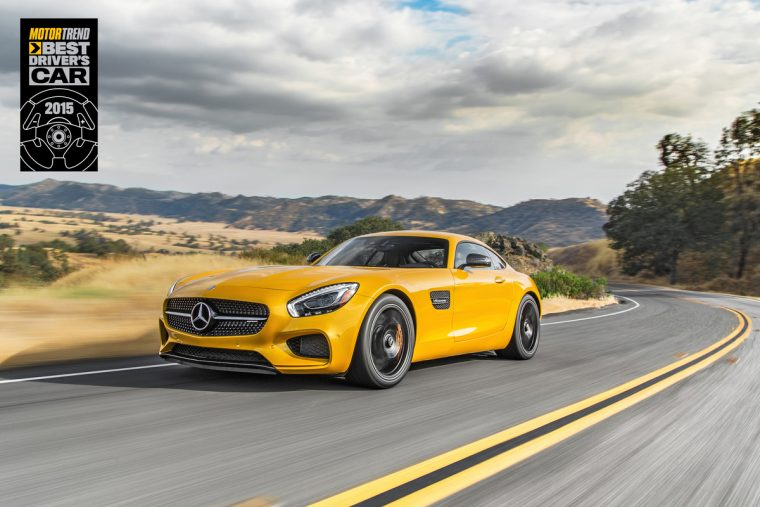 Motor Trend named the 2016 Mercedes-AMG GT S the 2015 Best Driver's Car