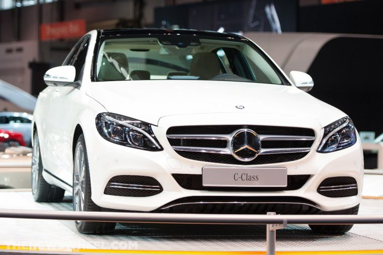 The C-Class lineup led Mercedes' October sales