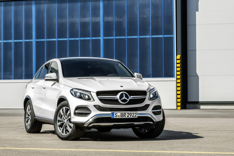 The all-new 2016 Mercedes-Benz GLE-Class Coupe was one of the top performers for Mercedes in September
