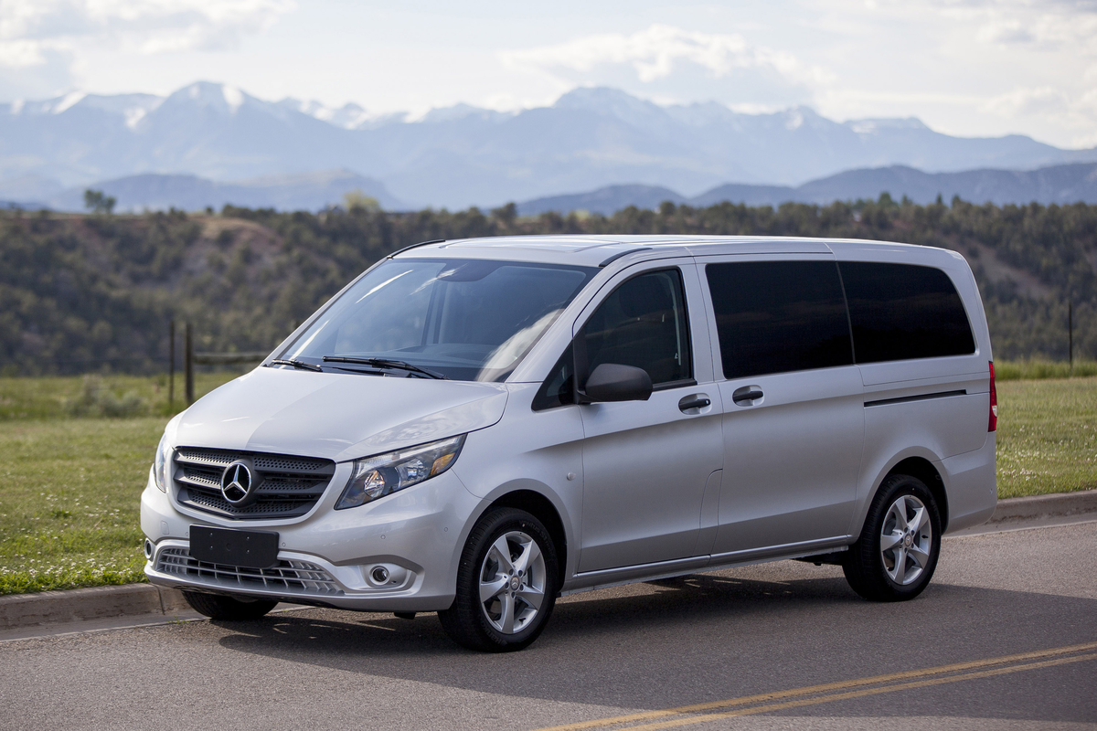 mercedes benz metris van named best commercial vehicle at texas truck rodeo the news wheel. Black Bedroom Furniture Sets. Home Design Ideas