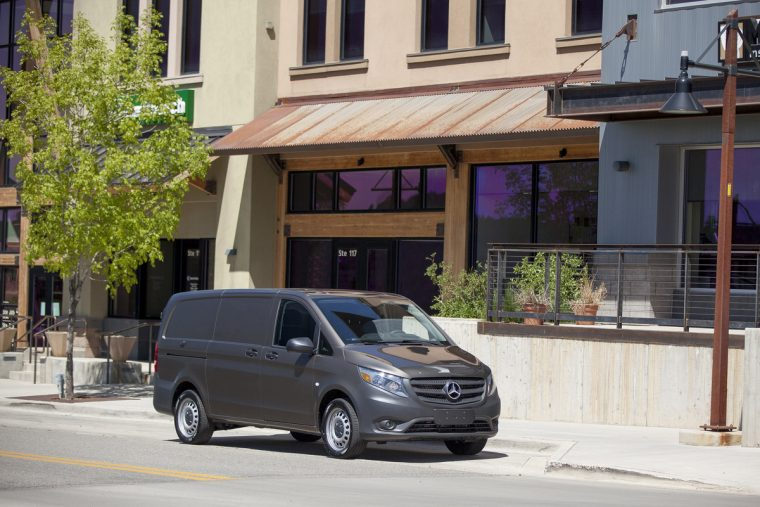 "The 2016 Mercedes-Benz Metris was named the ""Best Commercial Vehicle"" by the Texas Auto Writers Association at the Texas Truck Rodeo"