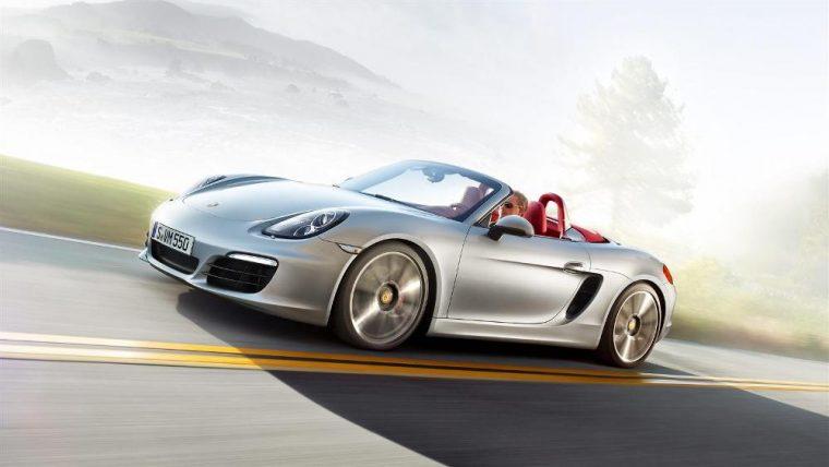 The 2016 Porsche Boxster S features a 3.4-liter flat-six engine.