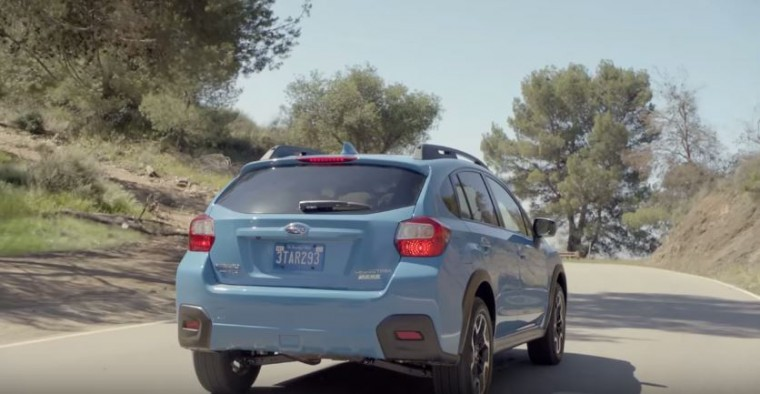 The first 2016 Subaru Crosstrek commercial illustrates the adventurous spirit of the brand