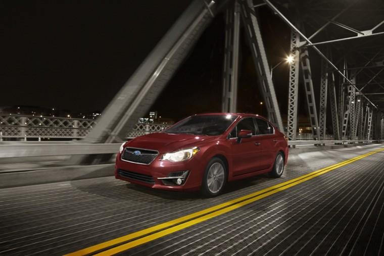 2016 Subaru Impreza Exterior