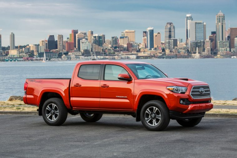 2016 toyota tacoma global sales lead