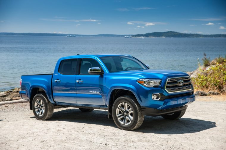 2016 Toyota Tacoma | The Toyota Tacoma is the most ticketed truck in America