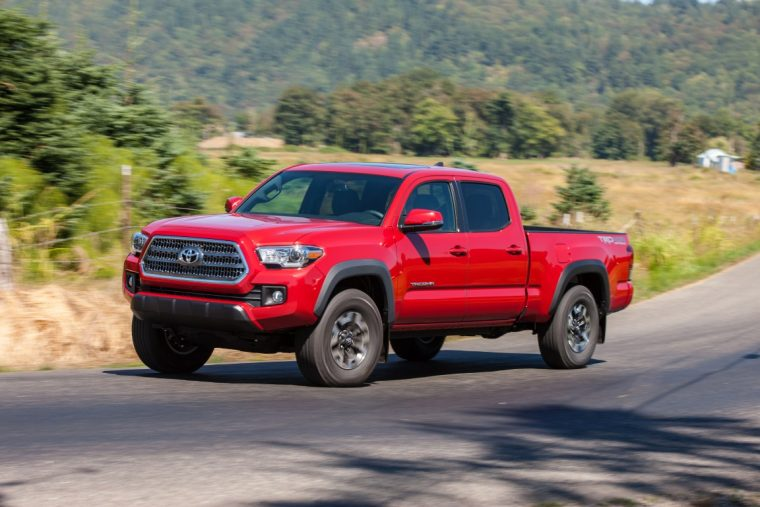 2016 Toyota Tacoma overview
