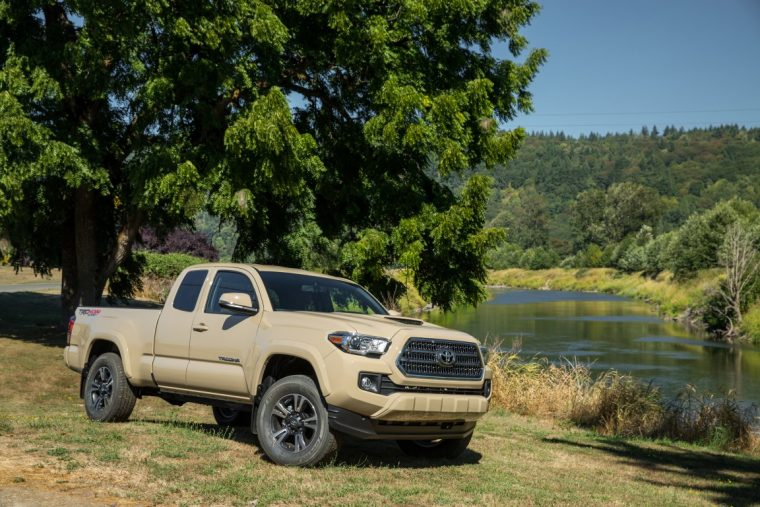 2016 Toyota Tacoma utility package