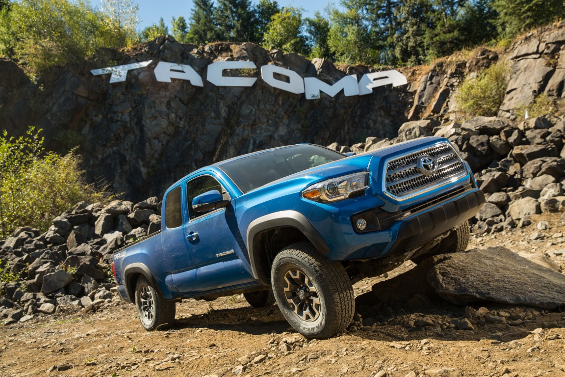 2016 toyota tacoma 6 the news wheel. Black Bedroom Furniture Sets. Home Design Ideas