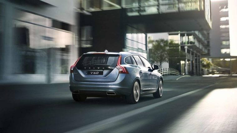 Cargo tie-downs are included on the 2016 Volvo V60
