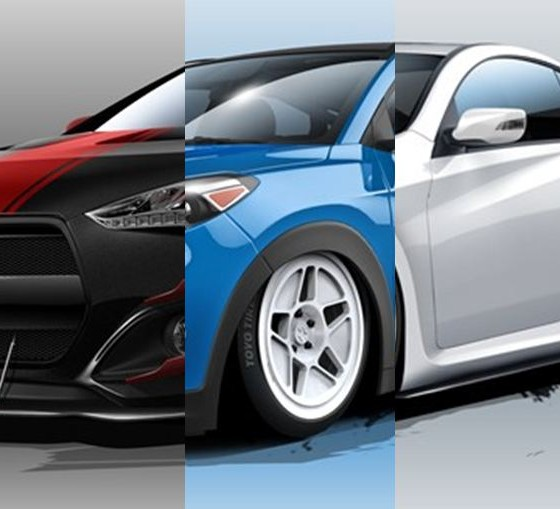 Hyundai Lineup 2015: Details On 6 Hot Mods From Hyundai's SEMA Vehicle Lineup