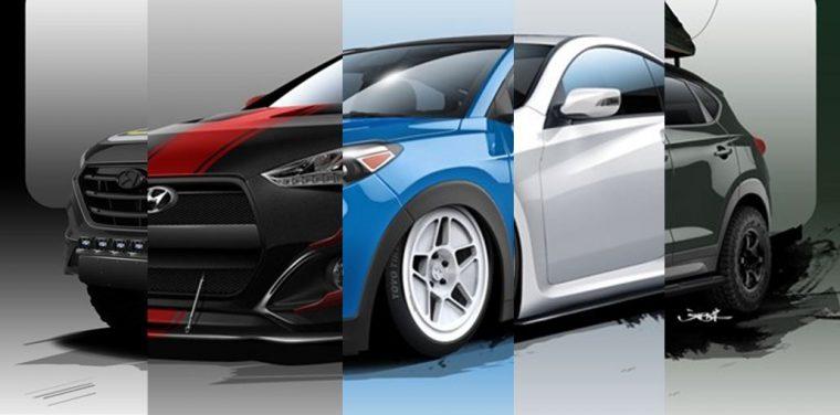 5 Hyundai models at 2015 SEMA lineup