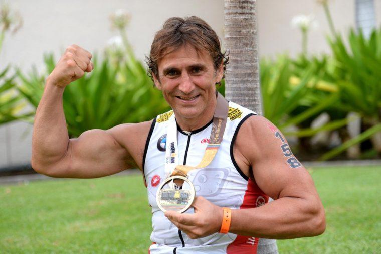 Alessandro Zanardi Iron Man