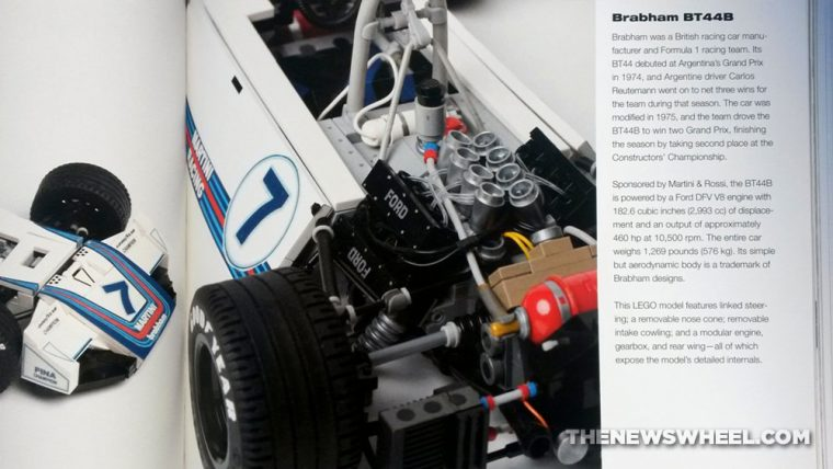 Art of Lego Scale Modeling book review building blocks Brabham racer replica