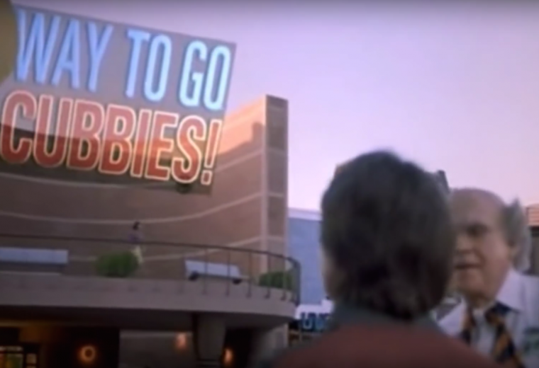 Back to the Future Part II Cubs Win World Series