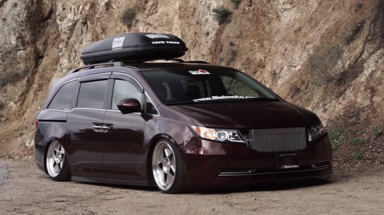 check out this 1 000 hp honda odyssey from bisimoto
