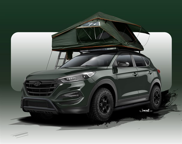 JOHN PANGILINAN CREATES HYUNDAI TUCSON  ADVENTUREMOBILE FOR SEMA