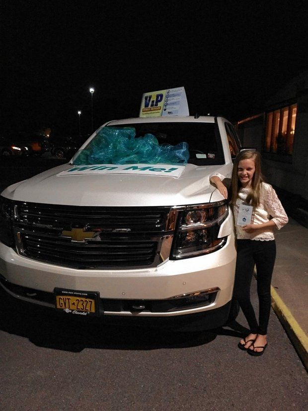 Old Car Raffle >> Teen Wins Chevy Tahoe in Raffle And Donates It To Charity ...