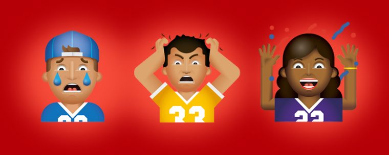 Toyota FanMojis app keyboard sports