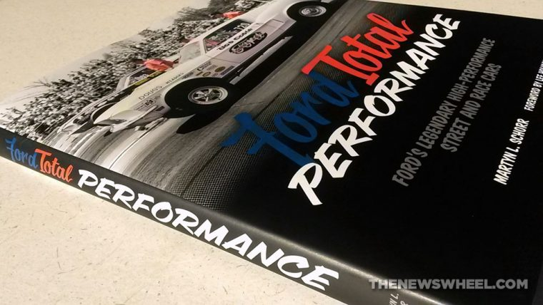 Ford Total Performance Racing-Motorsport Book Review Schorr Dust Jacket