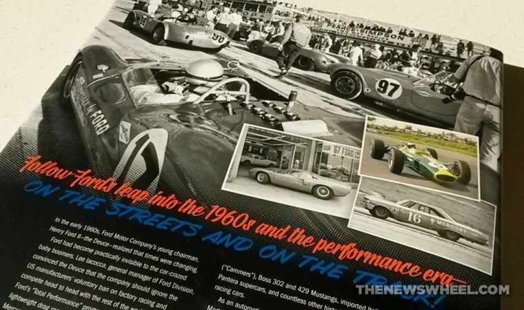 Ford Total Performance Racing-Motorsport Book Review Schorr back cover