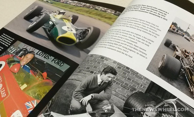 Ford Total Performance Racing-Motorsport Book Review Schorr page spread