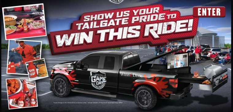 Frank's RedHot® Show Your Tailgate Pride Win Customizable Pickup Truck