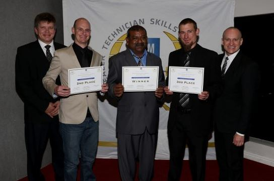GMSA Top Technician Skills Award