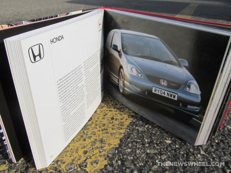 Giles Chapman Car Emblems Book about Logos Review Honda pages
