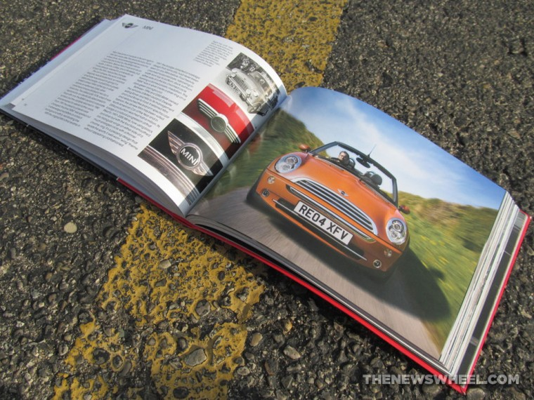 Giles Chapman Car Emblems Book about Logos Review MINI pages