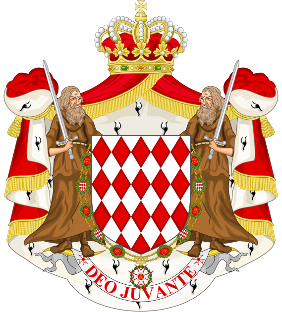 Great_coat_of_arms_of_the_house_of_Grimaldi of Monaco Monte Carlo