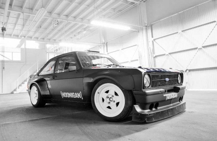 news block goes rear drive for escort gymkhana video