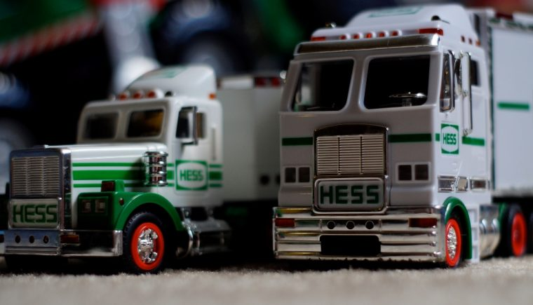Hess offering new toy trucks after buy out from Marathon