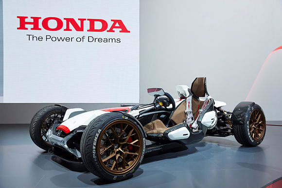 Honda Project 2&4 Concept in Frankfurt
