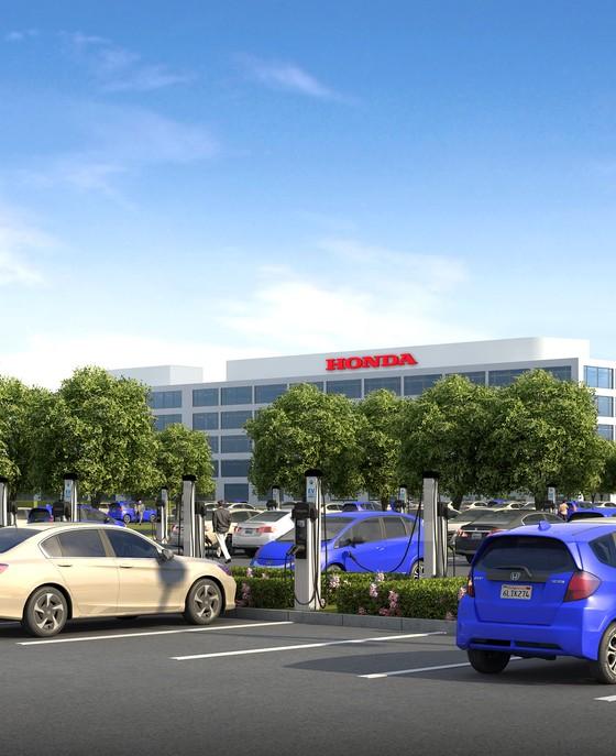 Honda Installing 120 Ev Chargers At Torrance California Hq The News Wheel