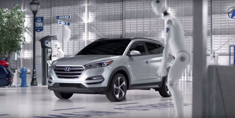 Hyundai Tucson Commercial Safety Town