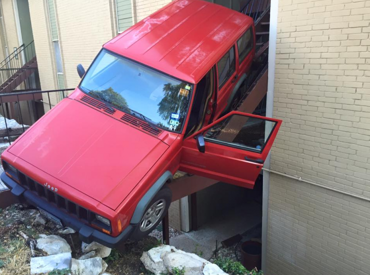 Jeep in Apartment
