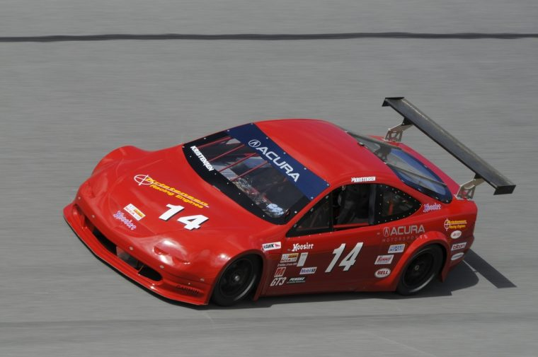 Joe Kristensen took his Acura to the GT-3 title at the SCCA Runoffs