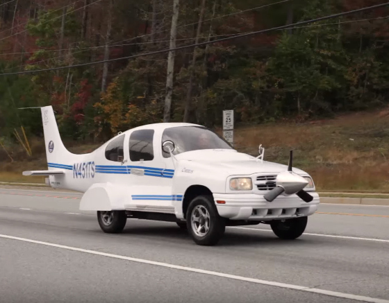 Chevrolet Tracker Gets Second Life As Plane Car The News