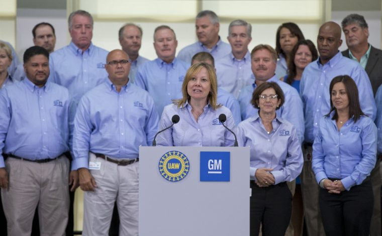 Mary Barra GM UAW