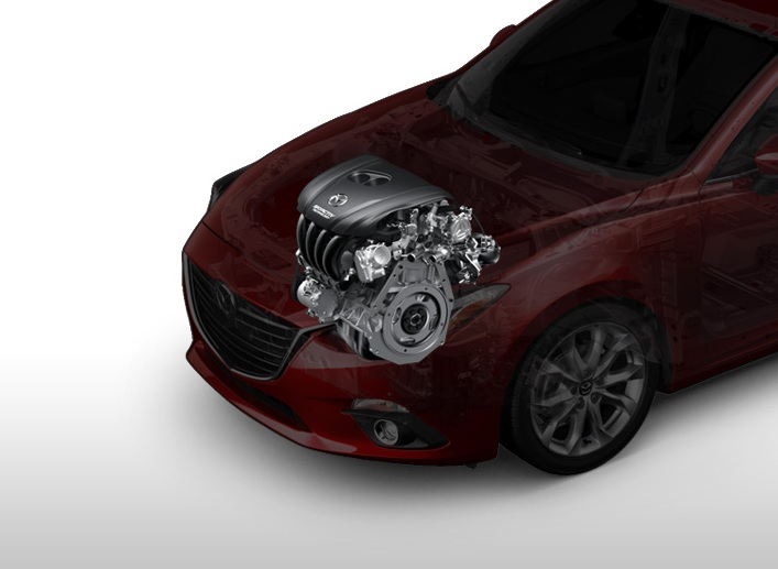 2016 Mazda 3 engine